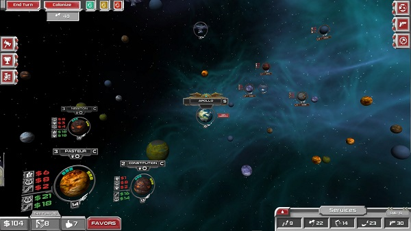 Apollo4X | A turn-based Space Trading 4X Strategy Game by Digi-Ent
