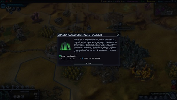 Civilization: Beyond Earth | A Quest Choice