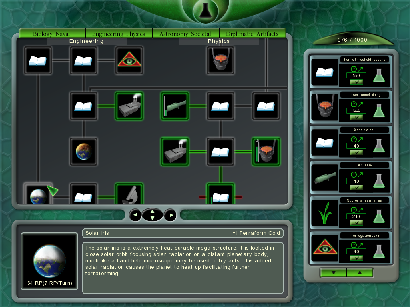 Aphelion Research Screen