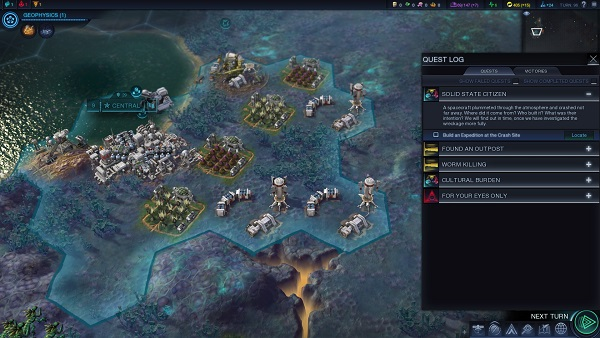 Civilization: Beyond Earth | Quest Log