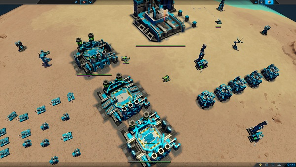 Planetary Annihilation | An Early Base