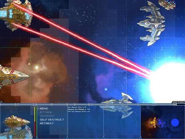 Stars in Shadow | Turn-based Tactical Space Combat