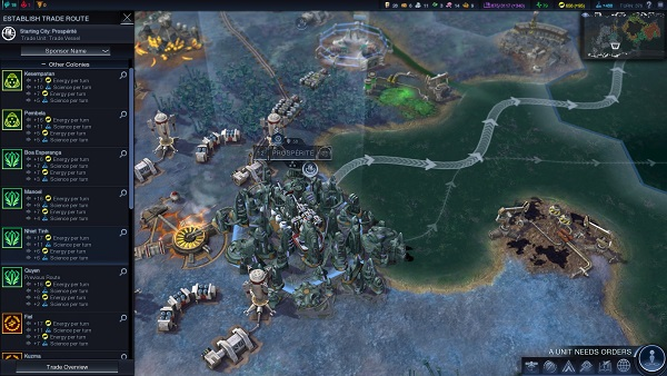 Civilization: Beyond Earth | Trade Routes