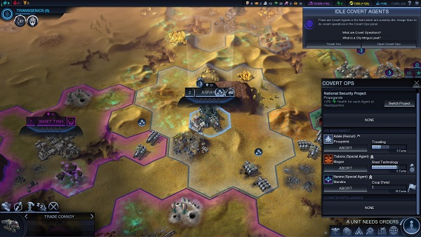 Civilization: Beyond Earth | Espionage
