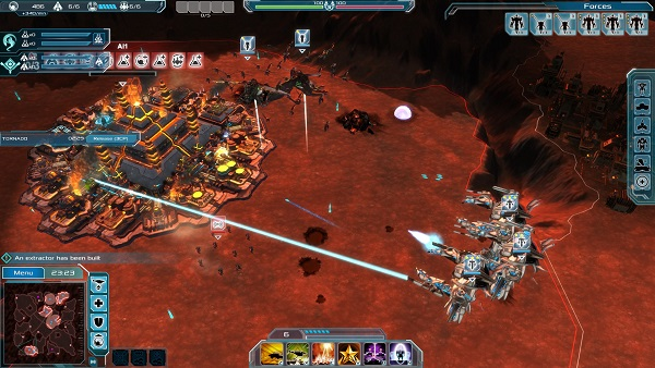 Etherium | A real-time sci-fi strategy game by Tindalos Interactive and Focus Home Interactive