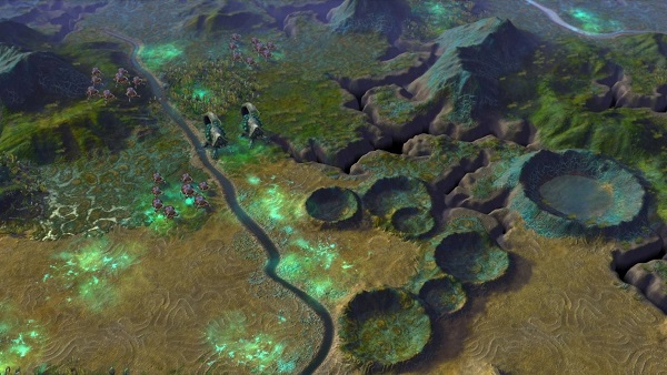 Sid Meier's Civilization: Beyond Earth | Alien Landscape