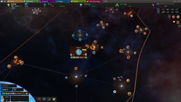 Star Ruler | Galaxy view of your Empire!
