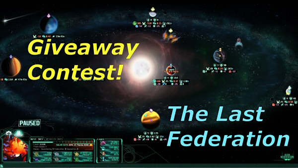 The Last Federation - Giveaway contest