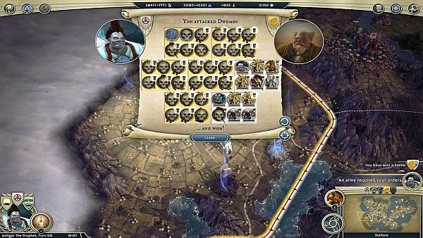 Age of Wonders 3 Review - Auto-Resolve can't do this