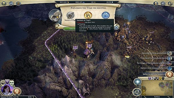 Age of Wonders 3 Review - Floating is a useful trait to have