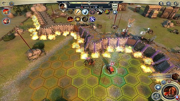 Age of Wonders 3 Review - Blood drips across the screen