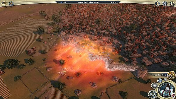 Age of Wonders 3 Review - Witness the destructive power of the Hellfire spell