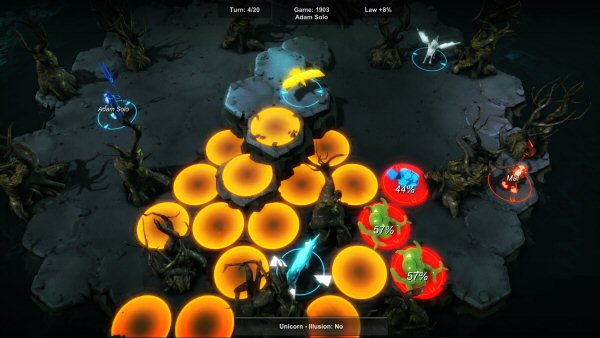 Chaos Reborn | Turn-based fantasy strategy game by Julian Gollop