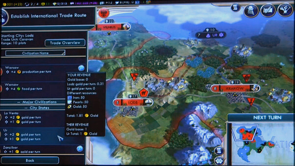 PAX East 2013 | Civ5: Brave New World - International trade system