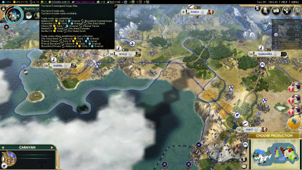 Civilization 5: Brave New World - Trade Routes