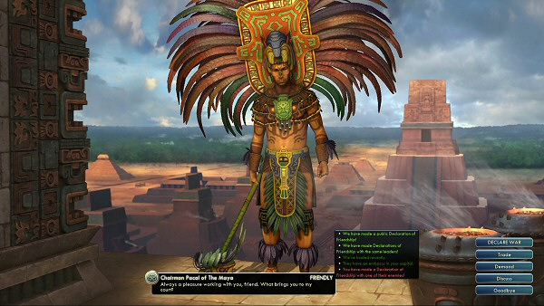 Civ5: Gods & Kings - Diplomacy (the Maya)