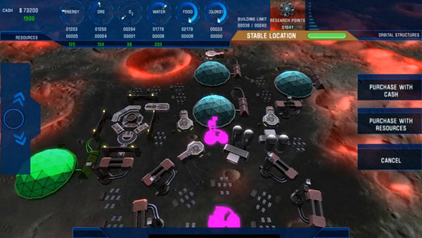 Colonisation: Moonbase | Space construction and management simulation