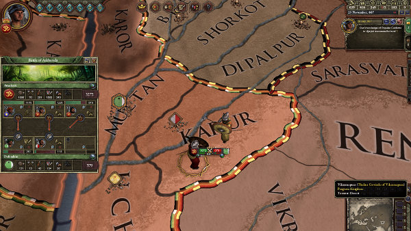 Crusader Kings II: Rajas of India - Taking heavy losses in combat? Welcome to India!