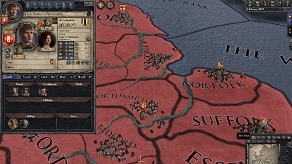 Crusader Kings 2 - Before you know it, your entire realm may collapses into a series of bickering nationstates