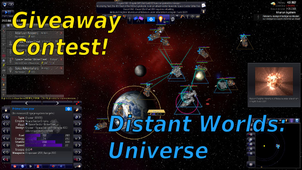 Distant Worlds: Universe | Giveaway contest