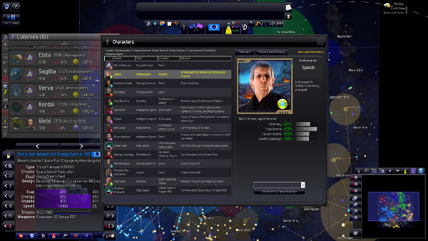 Distant Worlds: Universe | Star Trek Picard Era Mod  - Ambassador Spock of the Federation