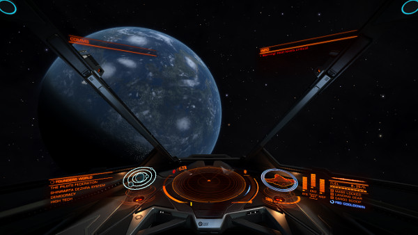 Elite Dangerous | Approaching a planet