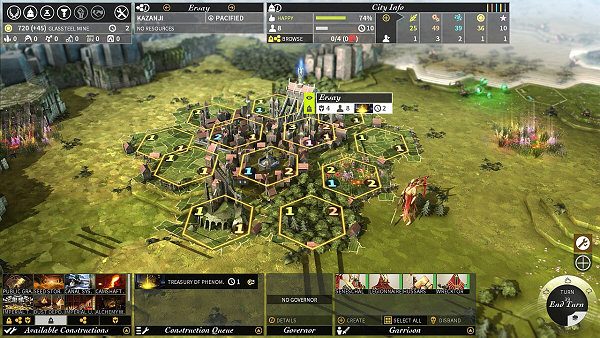 Endless Legend Town View