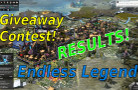 Endless Legend Giveaway Contest – 8 Keys!  [RESULTS]