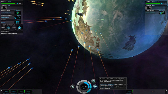 Endless Space: Disharmony and Re-Review - Fighters look nice in formation
