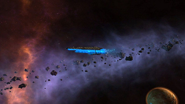 Endless Space: Disharmony and Re-Review - A Lone Harmony Ship