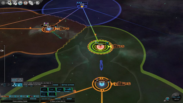 Endless Space: Disharmony and Re-Review - New Invasion UI