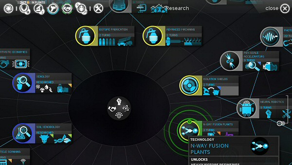 Endless Space | Alpha Version - Research Screen
