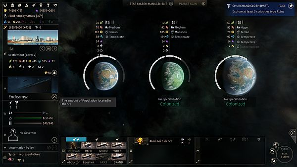 Endless Space 2 Early Access - 7 x 3 = 21 workers aka How Arks produce a ton of output