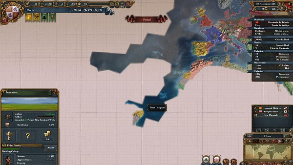 Europa Universalis IV | Exploring the New World