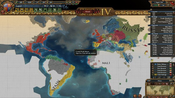 Europa Universalis IV | Exploring the New World (cont.)