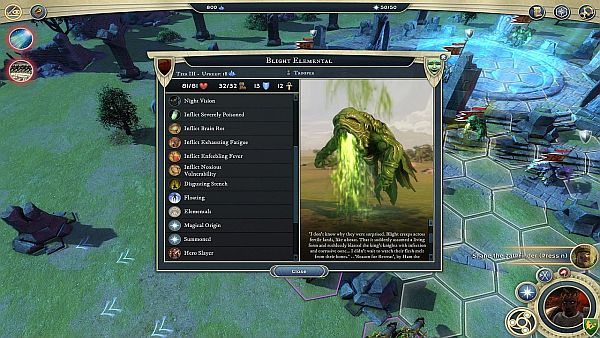 Age of Wonders 3 Golden Realms Review | He's not just hideously ugly.  He's also particularly deadly.