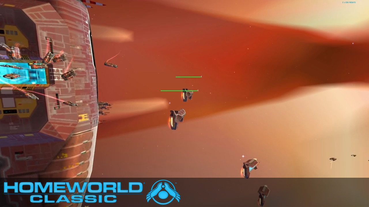 Homeworld (1999) by Relic Entertainment and Sierra Entertainment