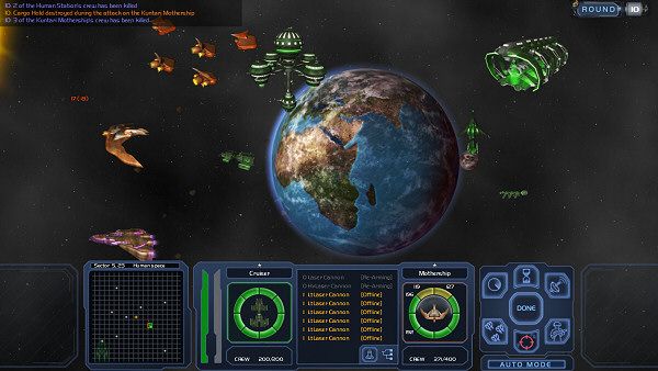 Horizon | Space 4X game - Tactical Combat