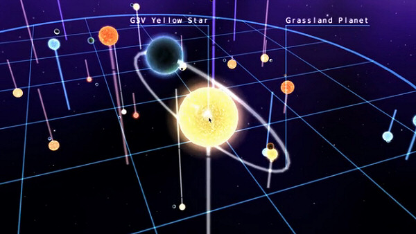 Infinite Space 3: Sea of Stars | Turn-based star map navigation