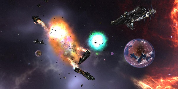 Legends of Pegasus: Space Combat and Explosions