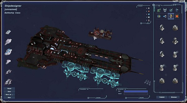Legends of Pegasus: Moduler Spaceship Design
