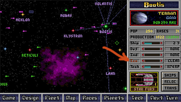 Master of Orion | Simtex, MicroProse