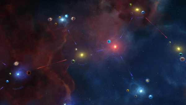 Master of Orion: Conquer the Stars | Alpha (Starmap view)
