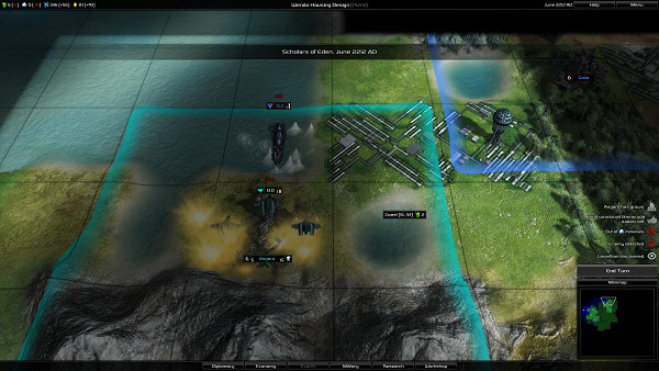 Pandora: First Contact   Science fiction 4X turn-based strategy game