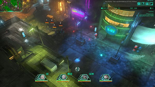 Satellite Reign | Nothing says cyberpunk quite like neon