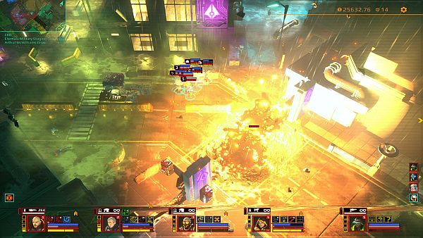 Satellite Reign Review | Grenades make beautiful carnage like this possible