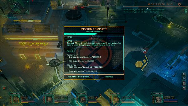Satellite Reign Review | Completing missions awards you with all kinds of goodies