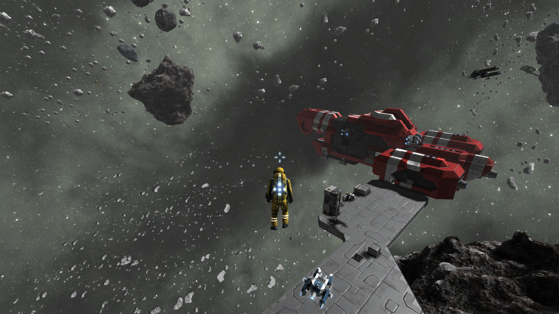 space engineers asteroid ship - photo #17
