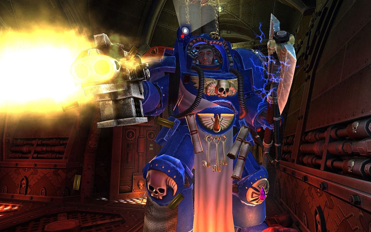 Space Hulk: This guy is VERY powerful