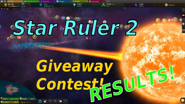 Star Ruler 2 - Giveaway Contest Results